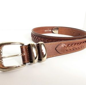 B*E*S*T AMERICAN CLOTHING CO English leather belt